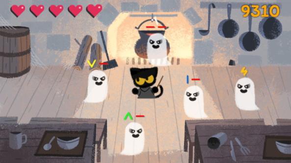 جدیدترین بازی گوگل برای هالووین