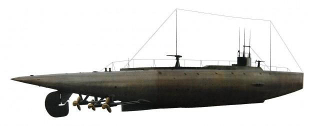 زیردریایی (CssH.L.Hunley)
