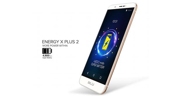 گوشی Energy X Plus 2 توسط شرکت Blu رونمایی شد