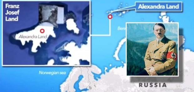 پایگاه مخفی نازی ها در قطب شمال