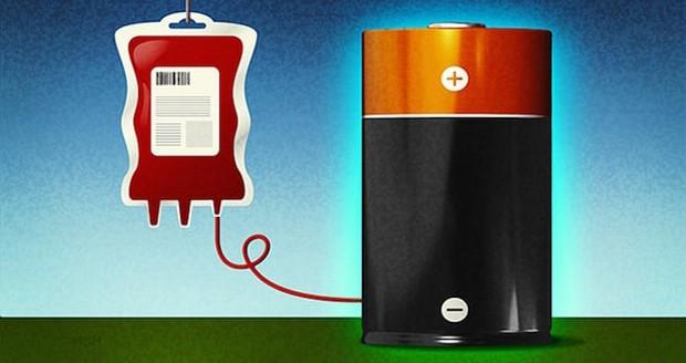 ساخت باتری قابل شارژ از مولکول های خون