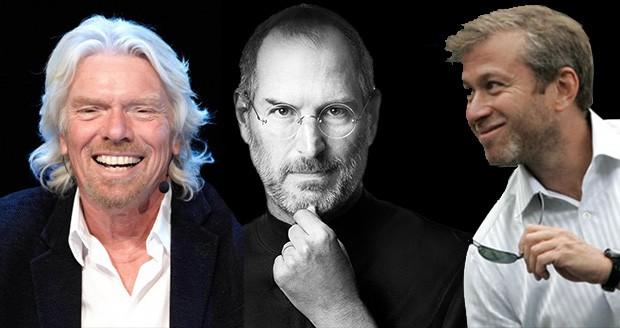 شخصیت های برتر جهان که درس نخوانده میلیاردر شدند