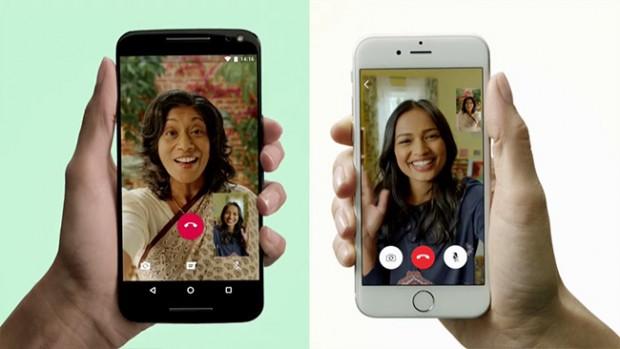 آموزش مکالمه و تماس تصویری با واتس اپ