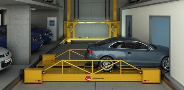 پارکینگ رباتیک هوشمند