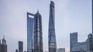 برج شانگهای به عنوان زیباترین آسمان خراش دنیا انتخاب شد