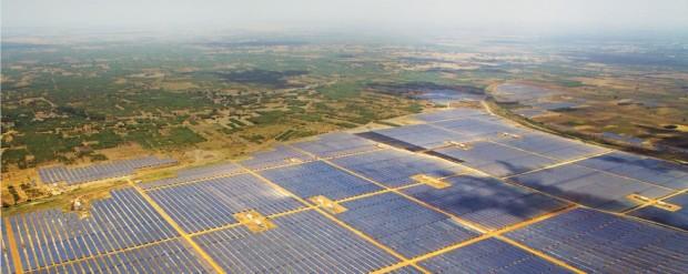 بزرگترین نیروگاه خورشیدی