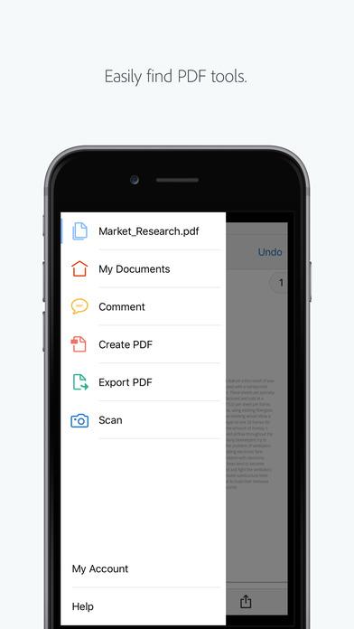 مشاهده فایلهای PDF با اپلیکیشن اکروبات ریدر