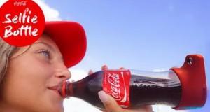 بطری سلفی کوکاکولا