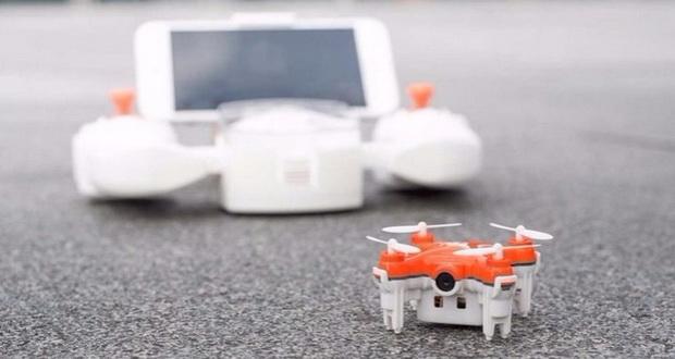 کوچکترین پهپاد دوربین دار جهان