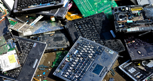 بازیافت زباله های الکترونیکی