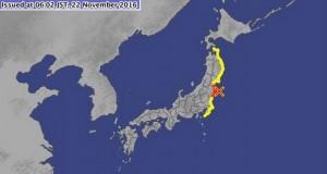 زمین لرزه های بزرگ ژاپن