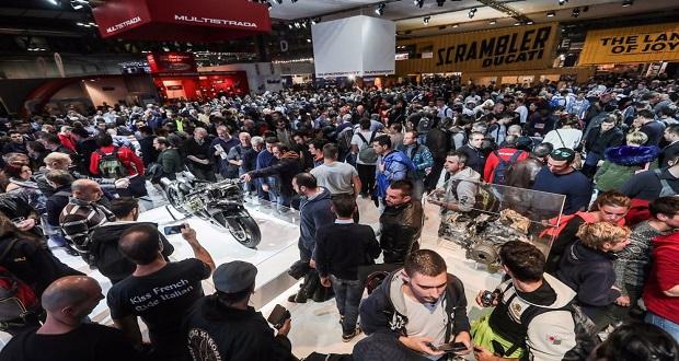 نمایشگاه موتورسیکلت EICMA 2016