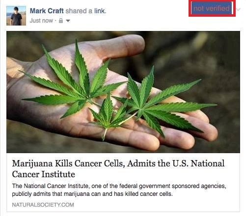 اخبار تقلبی در فیس بوک
