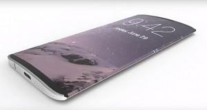 آیفون 8 با صفحه نمایش OLED منحنی شکل و فناوری جدید لمسی