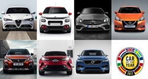 بهترین خودروی سال 2017 اروپا