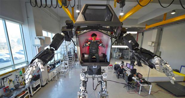 ربات جنگجو گاندام