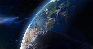 زمین در مقابل شهاب سنگها