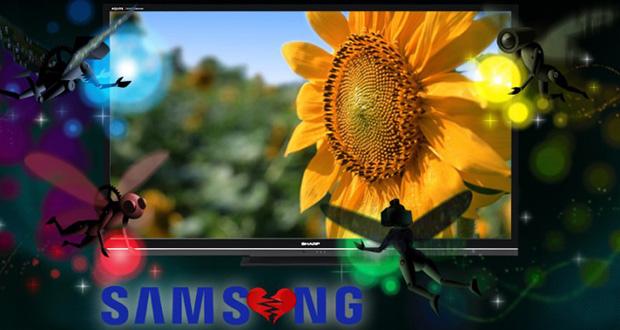 همکاری شارپ و سامسونگ در بخش پنل LCD تلویزیون به پایان خواهد رسید (2)