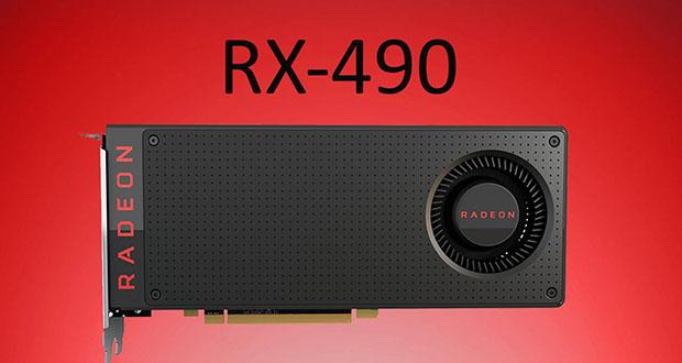 کارت گرافیک AMD Radeon RX 490