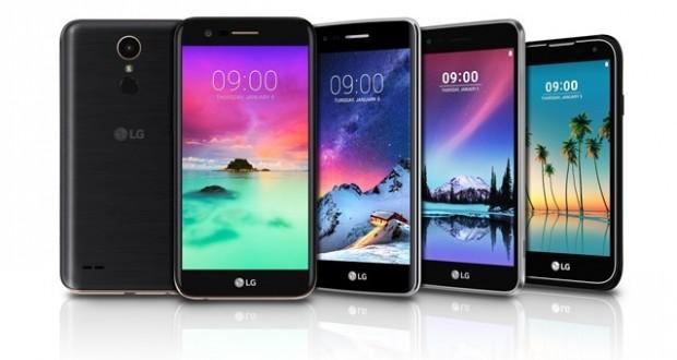 گوشی های جدید سری K ال جی