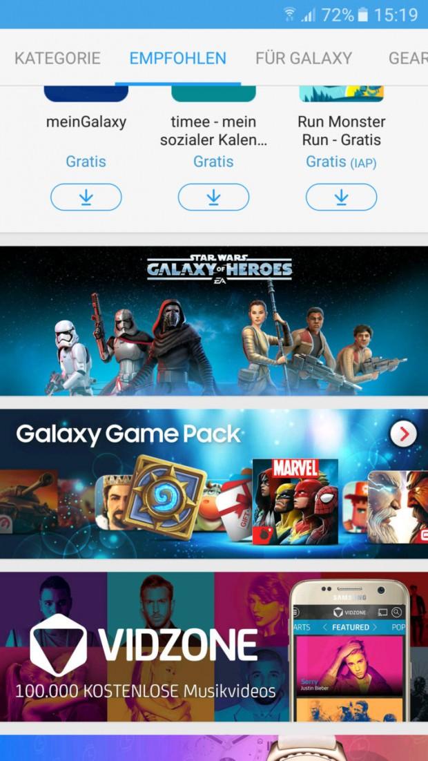 دریافت رایگان آیتمهای داخل بازیها با پکیج Samsung Galaxy Game برای کاربران اس 7 و اس 7 اج