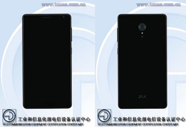 انتشار تصویری دیگر از گوشی ZUK Edge حاشیهی بسیار کم آن را نشان میدهد