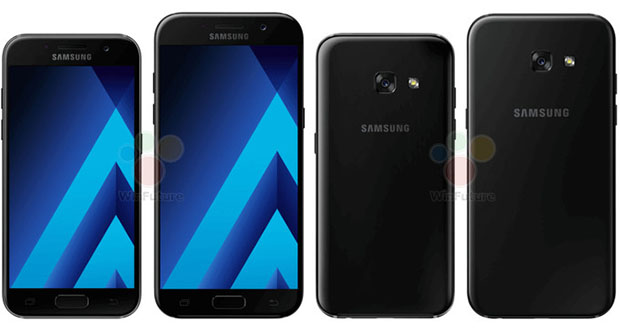 مدل 2017 گوشی های گلکسی A5 و A3