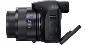 عرضهی دوربین Cyber-shot HX350 super zoom سونی با زوم اپتیکال ۵۰ برابر
