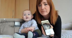 نجات یک کودک شش ماهه چند لحظه قبل از انفجار گلکسی اس 6 !
