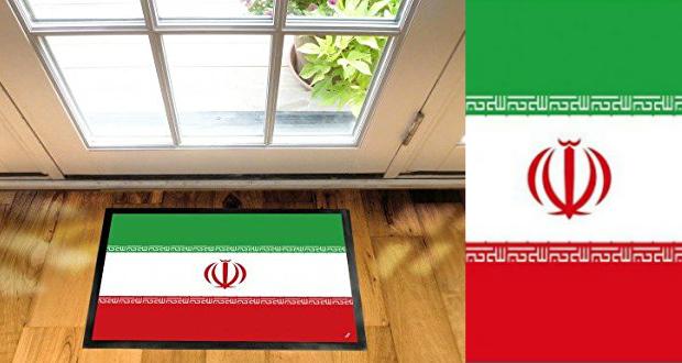 فروش پادری با پرچم ایران در وب سایت آمازون
