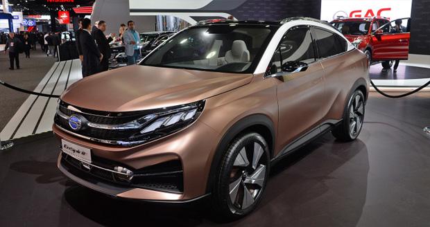 شرکت خودروسازی GAC در نمایشگاه دیترویت 2017؛ چینیها قدرتنمایی میکنند