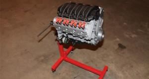 این موتور شورولت LS3 V8 به صورت سه بعدی پرینت شده و واقعا کار میکند