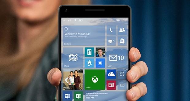 آپدیت جدید ویندوز 10 موبایل