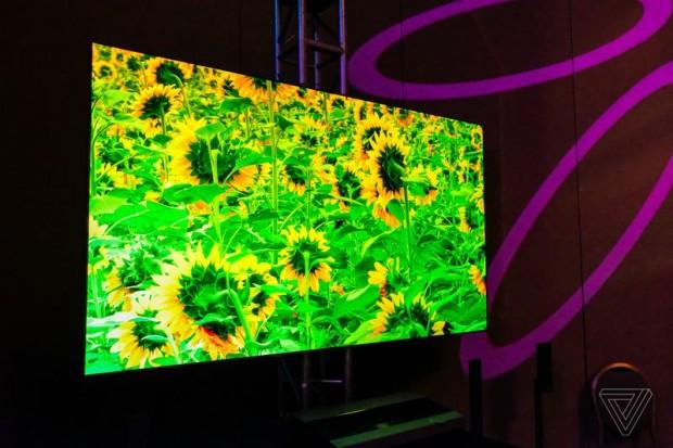 تلویزیون لیزری 100 اینچی
