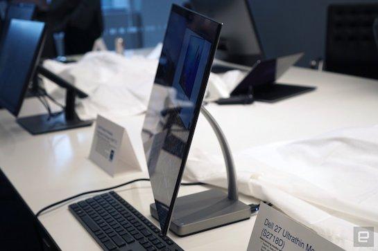 نمایشگرهای مجهز به USB نوع C ال جی و دل