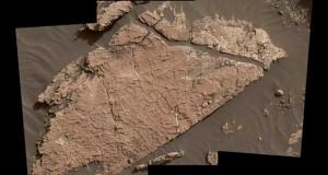 کشف گل خشک شده در مریخ توسط مریخپیمای کیوریاسیتی