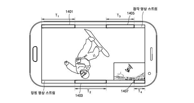 ثبت پتنت دوربین لنز دوگانه خلاقانه توسط سامسونگ