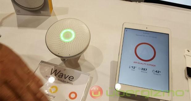 گجت Airthings Wave با تشخیص گاز رادون از شما در برابر سرطان ریه حفظ میکند