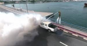 تجهیز نیروی آتش نشانی دبی به هاور برد دارای موتور واتر جت