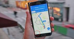 جای پارک اتومبیل در گوگل مپس