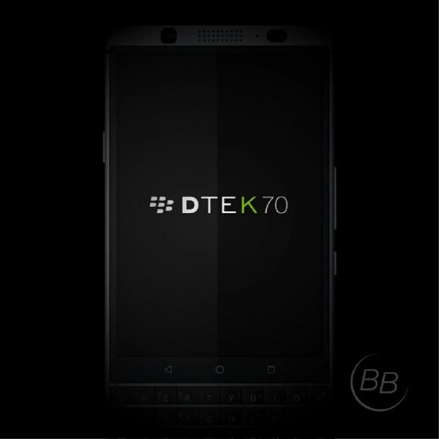 رندرهای جدیدی از بلک بری مرکوری لو رفت؛ این گوشی مدل DTEK70 خواهد بود؟