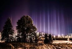 ستون های نور