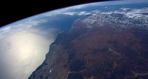 تصویر کره زمین از ایستگاه فضایی