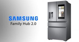 یخچال هوشمند سامسونگ Family Hub 2.0