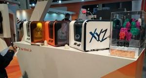 XYZprinting از پرینترهای سه بعدی ارزان قیمت خود برای کاربران خانگی رونمایی کرد