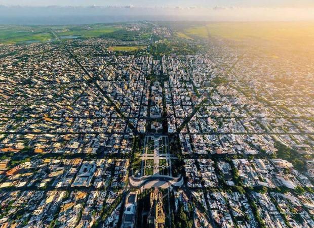 شهرهای زیبای جهان را از نمای بالا تماشا کنید
