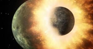 چگونگی شکل گیری ماه