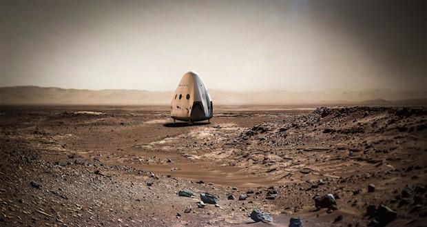 ماموریت سفر به مریخ اسپیس ایکس تاخیر خورده است
