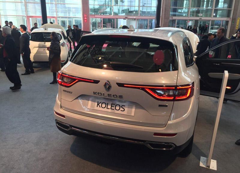 مقایسع رنو کولیوس 2017 با راو 4 رنو کولئوس جدید (Koleos) در نمایشگاه خودروی تهران رونمایی شد