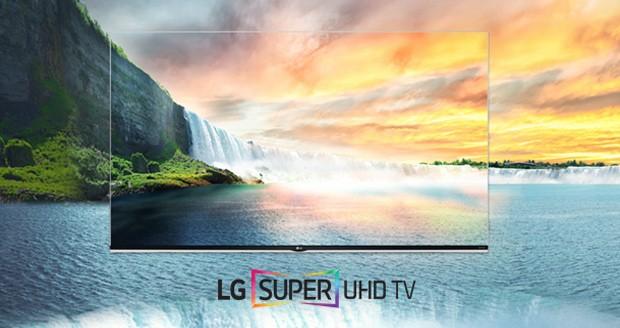 تلویزیون های Super UHD ال جی